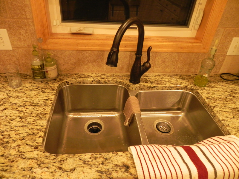 Kitchen After, Sink