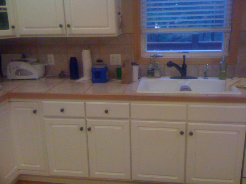 Kitchen Before, Sink