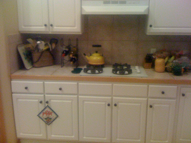 Kitchen Before, Cooktop