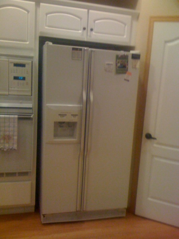 Kitchen Before, Fridge