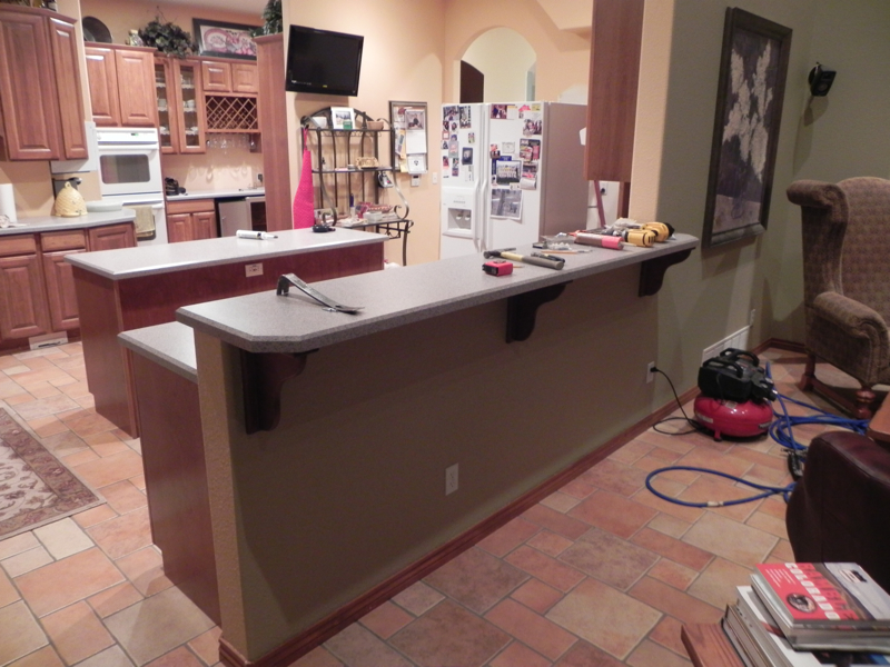Kitchen Before, High Top